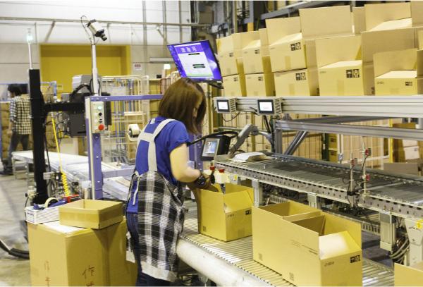 物流業務の自動化/機械化/システム化を進めていく事が必須です。
